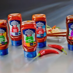 RPC Superfos custom-design bottle gives sauce a hot new look