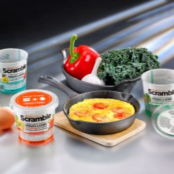 Scramble pack helps product egg-sell in US!