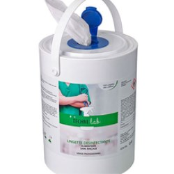 Wet wipes: practical container prevents evaporation